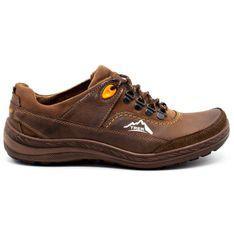 Olivier Męskie buty trekkingowe 268 brązowe