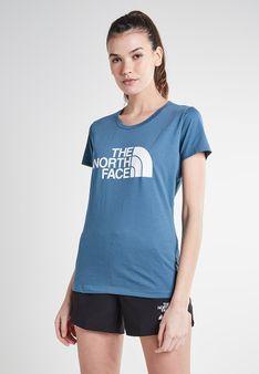 The North Face - T-shirt z nadrukiem - niebieski