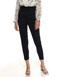 Spodnie damskie z zakładkami