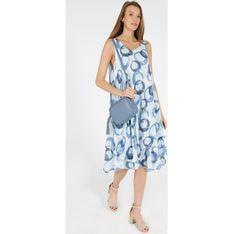Sukienka Unisono luźna na ramiączkach casual