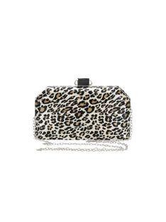 Damska torebka kopertówka w panterkę Verde 01-0001276
