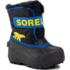 Buty zimowe dziecięce Sorel na rzepy