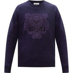 Sweter męski Kenzo niebieski