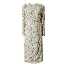 Sukienka kopertowa z kwiatowym wzorem model 'Marey'