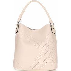 Shopper bag David Jones bezowy
