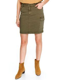 Spódnica mini z kieszeniami