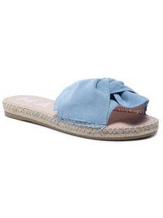Manebi Espadryle Sandals With Knot R 0.5 Jk Niebieski