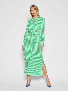 Tommy Hilfiger Sukienka koszulowa Cdc WW0WW30356 Zielony Regular Fit