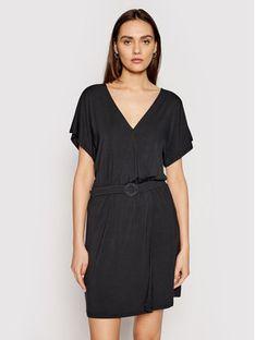 Emporio Armani Sukienka codzienna 262491 1P315 00020 Czarny Regular Fit