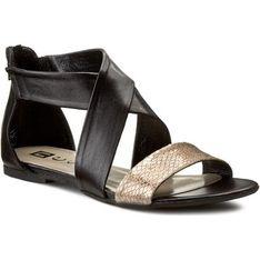 Sandały damskie Nessi wielokolorowy