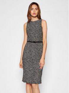 Lauren Ralph Lauren Sukienka codzienna 250837459001 Czarny Regular Fit