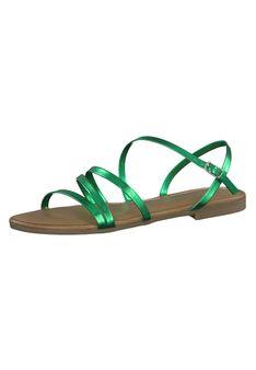 Tamaris - Sandały - zielony