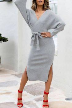 Sukienka FRANKA GREY