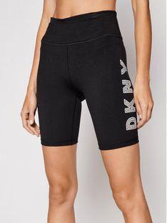 DKNY Sport Szorty materiałowe DP0S4748 Czarny Slim Fit