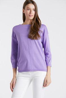 Pastelowy sweter damski