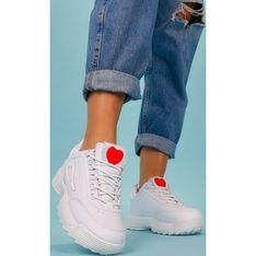 Buty sportowe damskie Casu sneakersy sznurowane płaskie