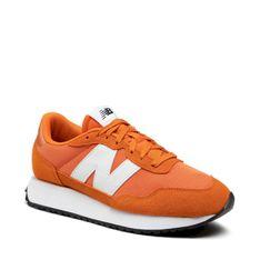 Sneakersy NEW BALANCE - MS237CD  Pomarańczowy