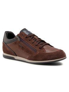 Geox Sneakersy U Renan A U044GA 022ME C6249 Brązowy