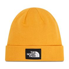Czapka THE NORTH FACE - Dock Worker Recycled Beanie NF0A3FNT56P-OS Summit Gold