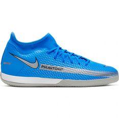 Buty piłkarskie Nike Phantom Gt Academy Df Ic M CW6668 400 wielokolorowe niebieskie