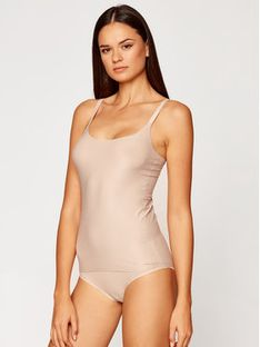 Chantelle Top Soft Stretch C10620 Beżowy Slim Fit