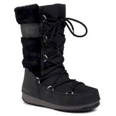 Śniegowce MOON BOOT - Monaco Fur Wp 240096001 Black