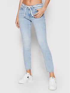 Calvin Klein Jeans Jeansy J20J216300 Niebieski Skinny Fit