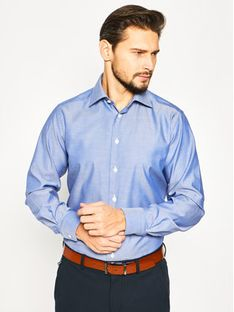Eton Koszula 100001399 Niebieski Regular Fit