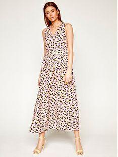 LOVE MOSCHINO Sukienka codzienna WVI0700T 9963 Różowy Regular Fit