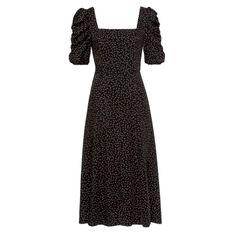Marszczonej rękaw Sukienka