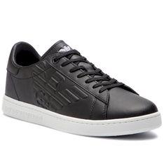 Sneakersy EA7 EMPORIO ARMANI - X8X001 XCC51 00002 Black