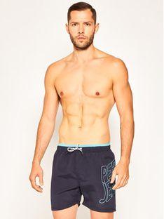 Pepe Jeans Szorty kąpielowe Fin PMB10243 Granatowy Regular Fit