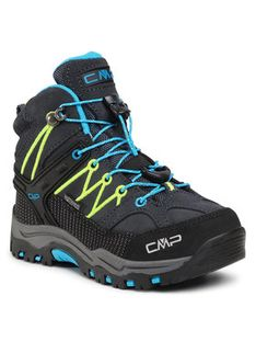 CMP Trekkingi Kids Rigel Mid Trekking Shoe Wp 3Q12944 Szary