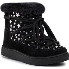 Colors Of California buty zimowe dziecięce w nadruki wiązane