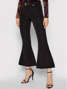 Versace Jeans Couture Spodnie materiałowe Flared 71HAA111 Czarny Regular Fit