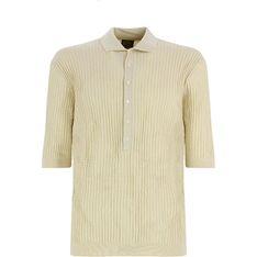 T-shirt męski Lardini bezowy