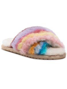 EMU Australia Kapcie Mayberry Rainbow W12475 Kolorowy