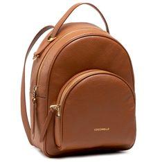 Plecak COCCINELLE - H60 Lea E1 H60 14 01 01 Camel W03