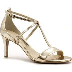 Neścior sandały damskie skórzane z klamrą