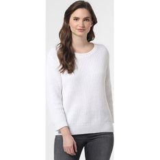 Sweter damski Svb Exquisit biały na zimę z okrągłym dekoltem