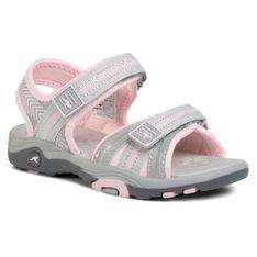 Sandały KANGAROOS - K-Lane 18491 000 2063 S Vapor Grey/Frost Pink