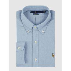 Koszula męska Polo Ralph Lauren z długim rękawem z tkaniny