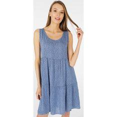 Sukienka Unisono na ramiączkach mini luźna
