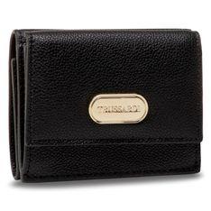 Mały Portfel Damski TRUSSARDI - Boston Wallet 75W00262 K299