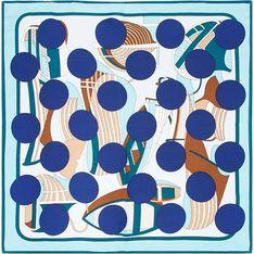 Szalik/chusta Wittchen w abstrakcyjnym wzorze elegancki