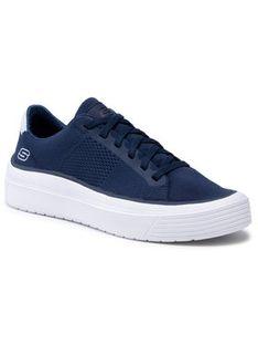 Skechers Sneakersy Heldren 210131/NVY Granatowy