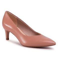 Szpilki CLARKS - Laina55 Court 261488894 Praline Leather
