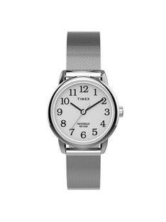 Timex Zegarek Easy Reader Classic TW2U07900 Srebrny