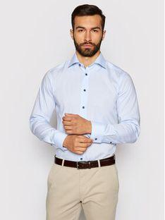 Eton Koszula 100002195 Niebieski Slim Fit