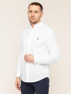 Polo Ralph Lauren Koszula 710654408003 Biały Regular Fit